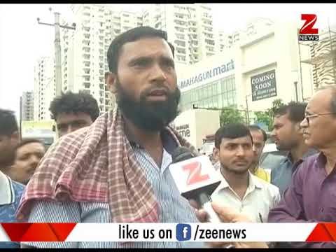Watch the shocking video of a society in Noida | देखिये नोएडा में एक सोसाइटी का चौंकाने वाला वीडियो