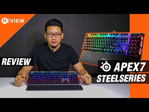 Review : Steelseries Apex 7 Keyboard Gaming !!