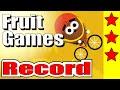 Google Doodle Fruit Games Records 3 Stars