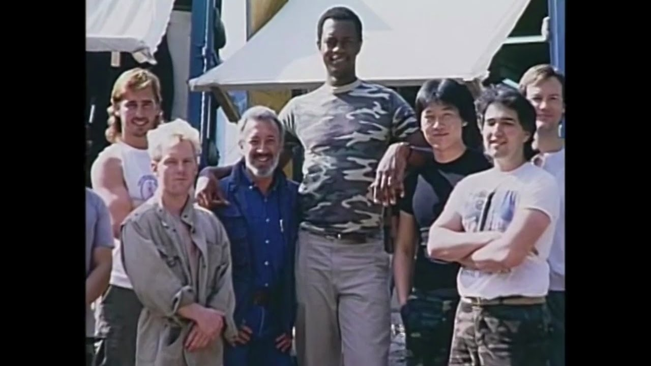 Kevin Peter Hall - Behind The Scenes of Predator (1987) - YouTube