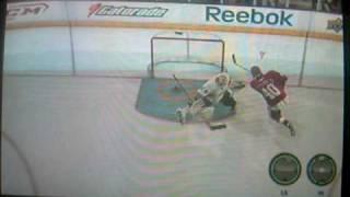 Pretty Cool NHL 09 Shootout Goal
