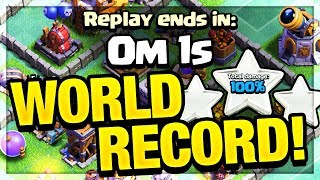 World RECORD - Fastest 3-Star in Clash of Clans - Can YOU Beat It?