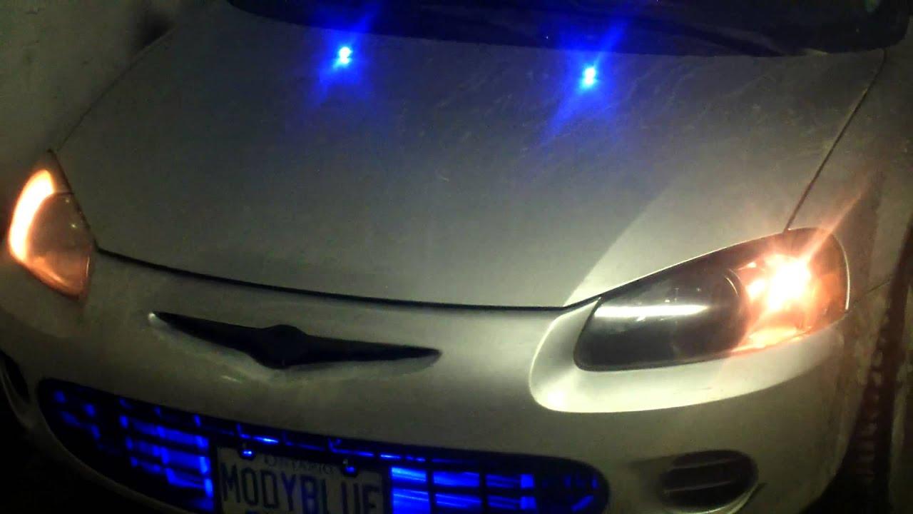 Chrysler Sebring Warning Lights Diagram Weber 40 Idf Parts 2001 Headlight Housing Blacked Out Youtube