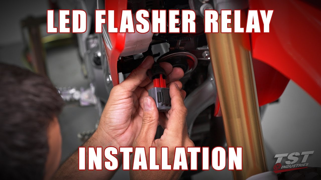 Allied Signal Flasher Relay Wiring Diagram 2012 Honda Turn How To Install An Led On A 2016 Crf250l By Schematics