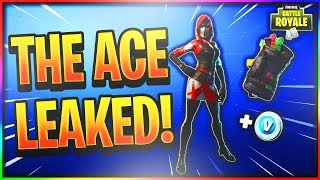 "*NEW* ""ACE SKIN"" STARTER PACK LEAKED! (3RD FORTNITE STARTER PACK SHOWCASE!)"