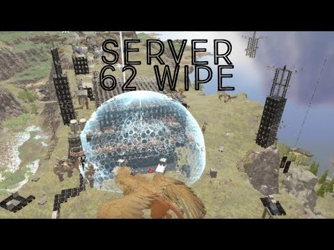 Ark Official Pvp BLDX Wiping Server 62 and Fob Defense of 185 against Black Knights/Mutiny