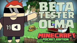 Minecraft PE Beta Tester Olma | Güncellemeleri Otomatik Alın 0.15.0