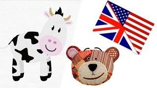 Apprendre les animaux de la ferme en anglais avec Traposo