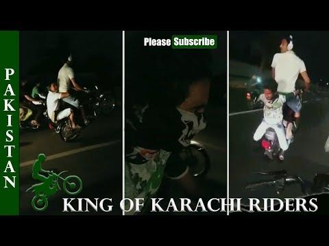 King of Karachi Riders Part 2 From Beyond the Grave | One Wheeling in Karachi Pakistan 2017