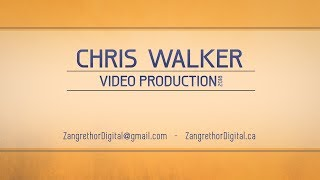 Chris Walker - Video Production Showreel - 2018