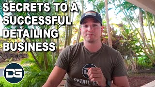How To Start A Detailing Business | The Detail Geek's Secrets!