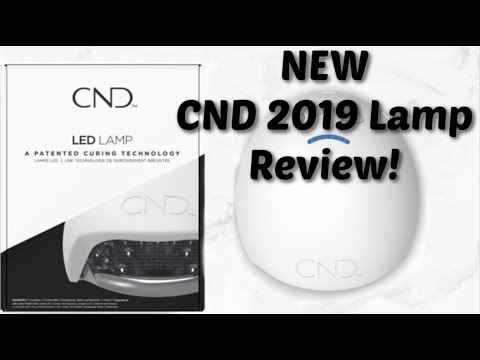 FIRST LOOK! NEW 2019 CND LED lamp!