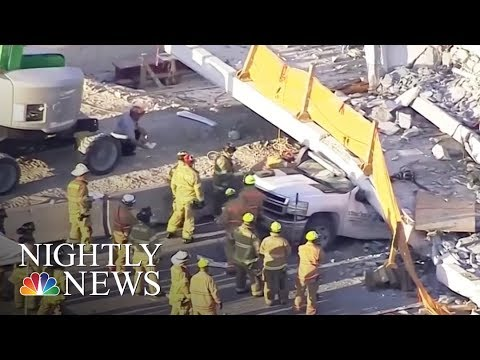 New details of possible problems with Miami bridge as more victims identified | NBC Nightly News