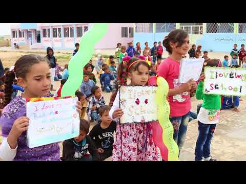 Syria Relief's #RIGHT2LEARN campaign