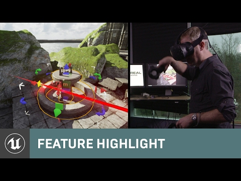 How game devs will soon build VR worlds in VR