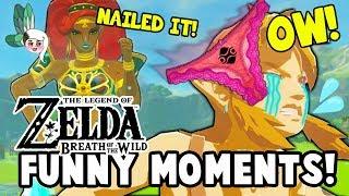 I FOUND URBOSA'S UNDERWEAR?! (Zelda: Breath Of The Wild Funny Moments)