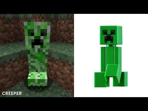 LEGO MINECRAFT - Minifigures VS Games