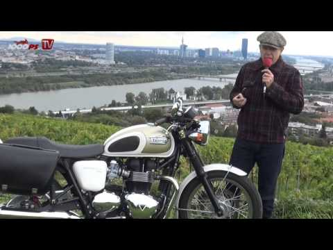 ZONKOs Corner Triumph Bonneville T100 - Test, Action, Custom