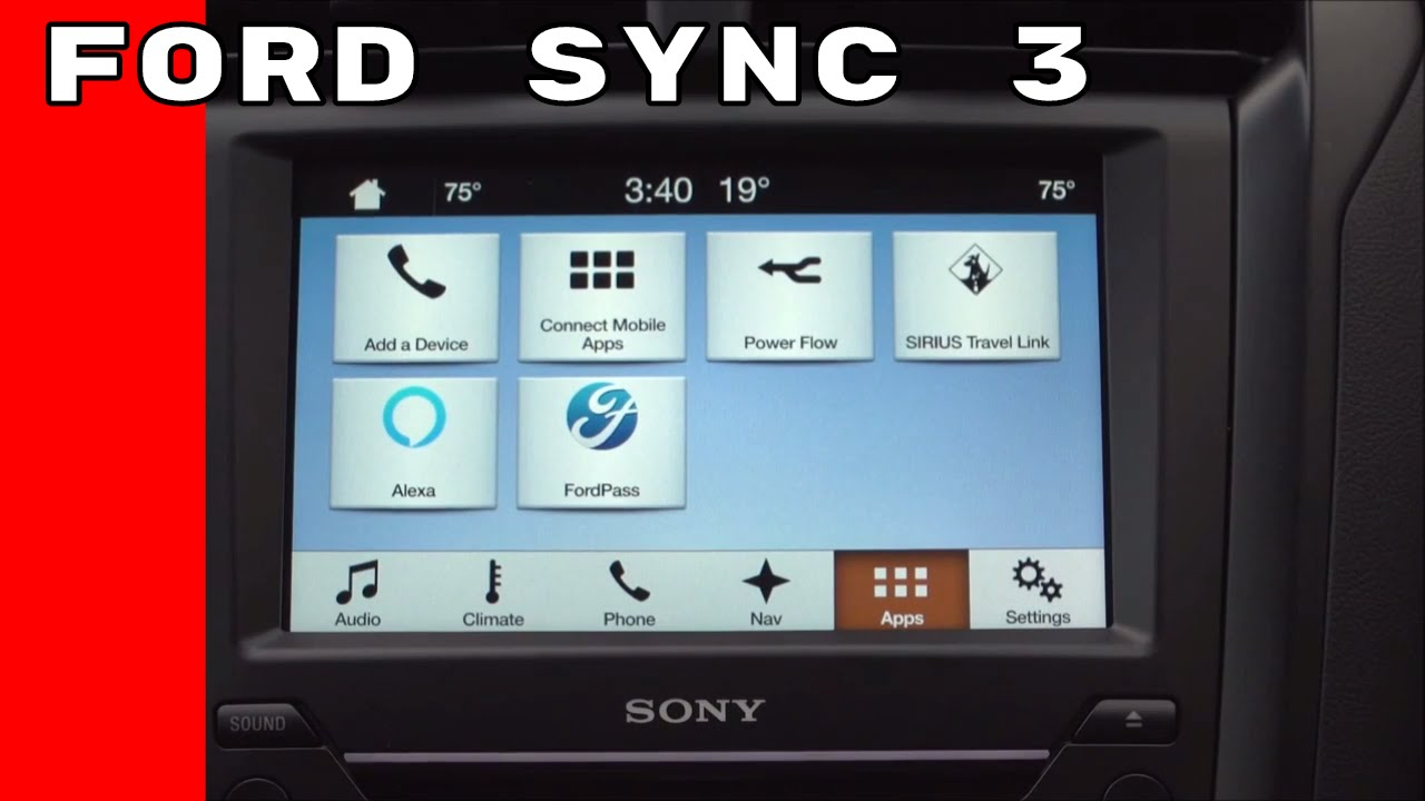 ford sync 3 amazon alexa sygic navigation driverscore. Black Bedroom Furniture Sets. Home Design Ideas