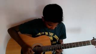 How to play tamil guitar song - yaeley yaeley maruthu song intro cover