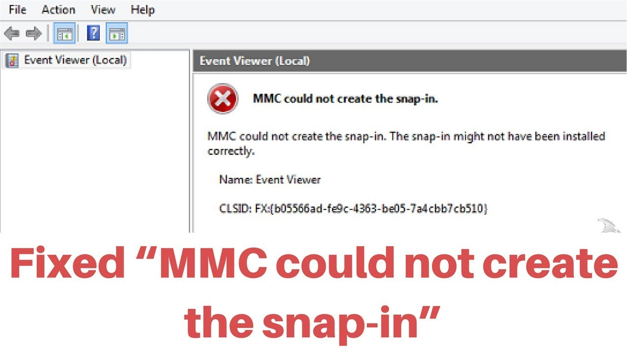 "🔨🔨How to fix ""MMC could not create the snap-in"" error message while  starting gpedit msc"