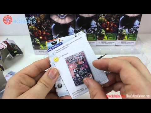 Marvel Heroclix Guardians of the Galaxy Unboxing