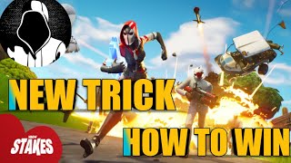 How to win fortnite getaway new trick | UNSTOPPABLE JOTA|