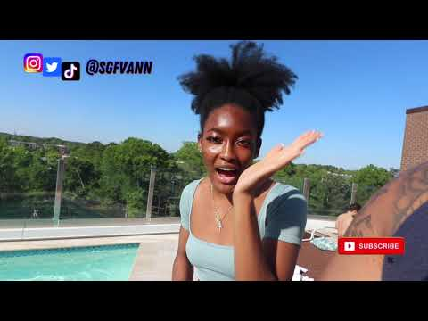 Basketball Dare Challenge PT.2 *She Jumped Into Pool Fully Clothed*    feat  @joannegabriel