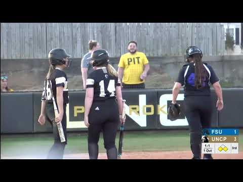 Braves Highlights: UNCP Softball vs Fayetteville State, 2/5/19
