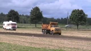 #1130 Dump truck offroad races motorhome [Davidsfarm]