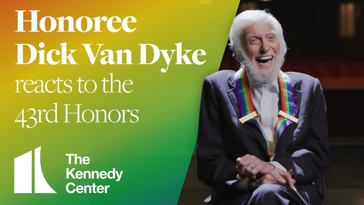 Who is Dick Van Dyke's wife? Actor honored at Kennedy Center!