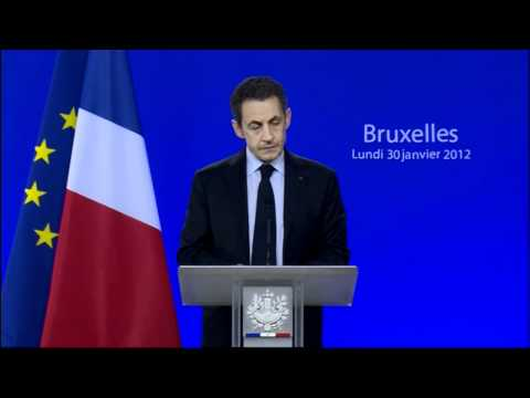 Sarkozy outlines Euro summit deal (French)
