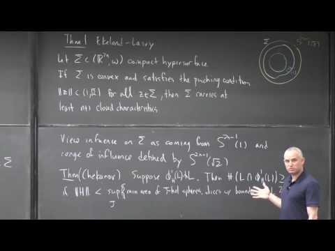 Hamiltonian Floer theory and a theorem of Ekeland and Lasry [1]