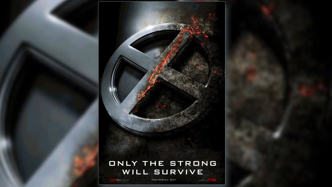 First Official Poster For X Men Apocalypse Revealed