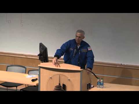 Lee Morin - NASA astronaut visits the University of Oklahoma