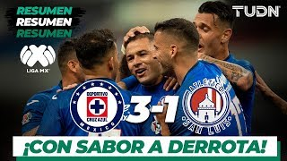 Resumen y Goles | Cruz Azul 3 - 1 San Luis | Liga Mx - Ap 2019 - J19 | TUDN