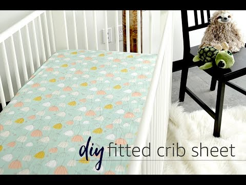 DIY Fitted Crib Sheet Tutorial