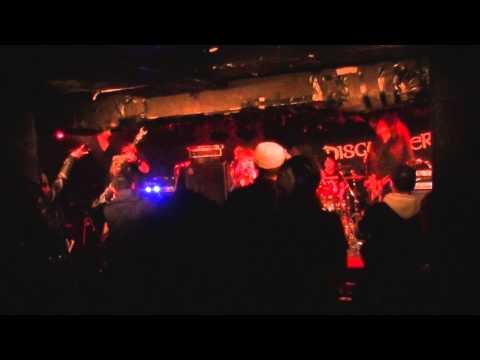 DISGUNDER (live @ EARTHDOM, Okubo Tokyo Japan 05.04.2015)