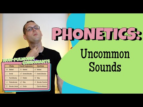 Non-Pulmonic Consonants: Ejectives, Implosives, and Clicks