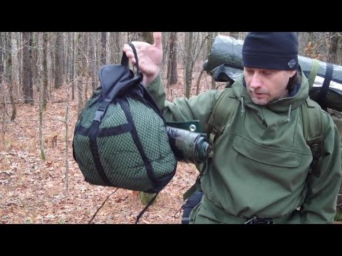 Winter Camping, My Sleep Gear Part One M.S.S.