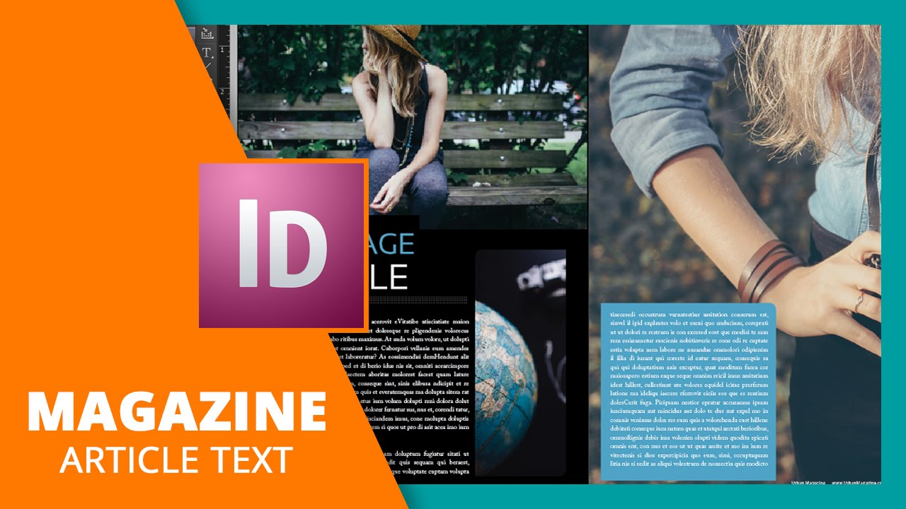 Delightful Design For Magazine Part - 6: Magazine Article Text Tips In InDesign - YouTube