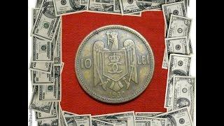 Coin Romania 10 Leu 1930 10 lei Carol 2 regele Romanilor монета 10 лей Румыния/ numismatic news