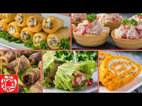 5 Идей Вкусных ЗАКУСОК на Праздничный Пасхальный стол! Меню на Пасху 2019