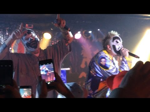 ICP - Mr. Happy & Yellow Bus live at CELEBRATION 17 in Westland, MI 1-7-2017