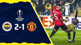 MAÇ ÖZETİ Fenerbahçe 2-1 Manchester United