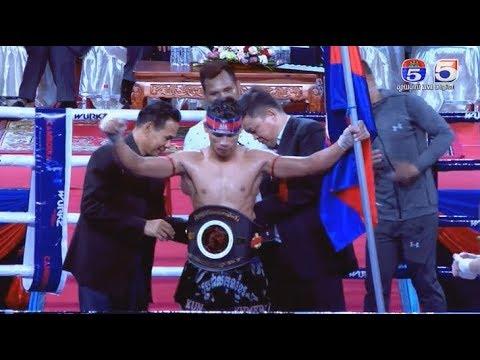 Kun khmer, Dum Keoda vs Adam price, TV 5 Cambodia boxing 08 December 2017, Muay thai