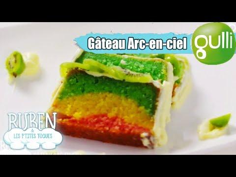 Ruben et les p'tites toques : Gâteau Arc en ciel ! À découvrir sur Gulli !