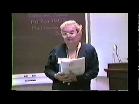 Radionics Lecture Part 5 of 6 - Caroline Connor