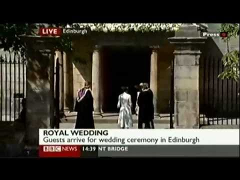 Royal Wedding: Zara Phillips Weds Mike Tindall - part 1