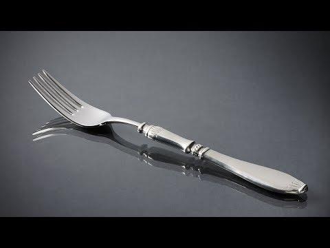 Как чистить мельхиоровые ложки, вилки, ножи
